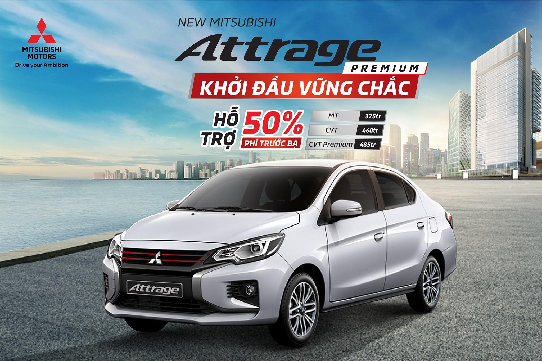 Sự kiện Trưng bày và lái thử xe – Bàn giao xe Mitsubishi Attrage mới tại Huế 03/04/2021